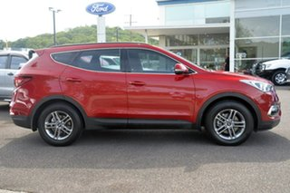 2017 Hyundai Santa Fe DM3 MY17 Active Red 6 Speed Sports Automatic Wagon.
