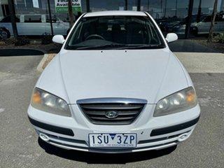 2005 Hyundai Elantra XD 2.0 HVT White 4 Speed Automatic Sedan.