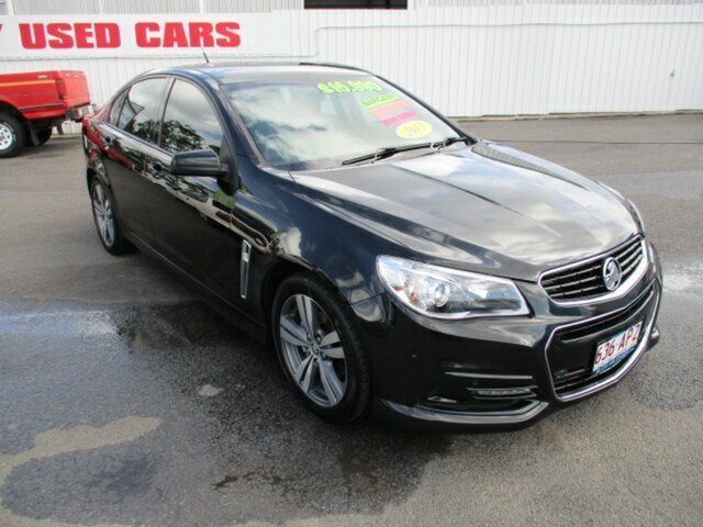 Used Holden Commodore VF SV6 Woodridge, 2013 Holden Commodore VF SV6 Black 5 Speed Automatic Sedan