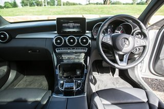 2017 Mercedes-Benz C-Class W205 808MY C200 9G-Tronic Iridium Silver 9 Speed Sports Automatic Sedan
