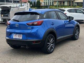 2017 Mazda CX-3 DK4W7A sTouring SKYACTIV-Drive i-ACTIV AWD Blue 6 Speed Sports Automatic Wagon.