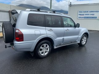 2005 Mitsubishi Pajero NP MY05 GLS Silver 5 Speed Sports Automatic Wagon.
