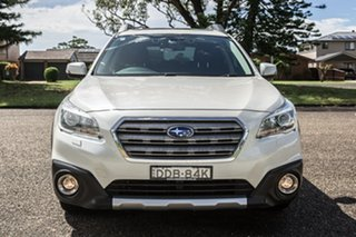 2016 Subaru Outback B6A MY17 2.5i CVT AWD Premium Pearl White 6 Speed Constant Variable Wagon.