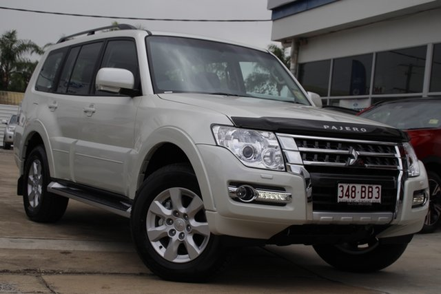 Demo Mitsubishi Pajero NX MY21 GLX Beaudesert, 2021 Mitsubishi Pajero NX MY21 GLX Warm White 5 Speed Sports Automatic Wagon