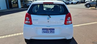 2010 Suzuki Alto GF GL White 5 Speed Manual Hatchback