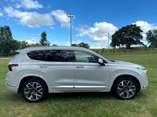 2020 Hyundai Santa Fe Tm.v3 MY21 Highlander Glacier White 8 Speed Sports Automatic Wagon.