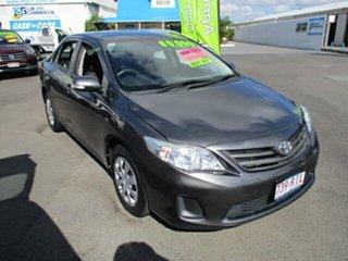 2010 Toyota Corolla ASCENT Grey 4 Speed Automatic Sedan.