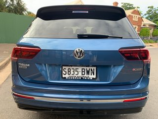 2018 Volkswagen Tiguan 5N MY18 162TSI Highline DSG 4MOTION Allspace Blue 7 Speed