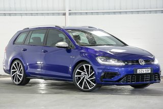 2018 Volkswagen Golf 7.5 MY19 R DSG 4MOTION Blue 7 Speed Sports Automatic Dual Clutch Wagon.