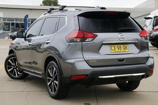 2017 Nissan X-Trail T32 Series 2 TI (4WD) Gun Metallic Continuous Variable Wagon.