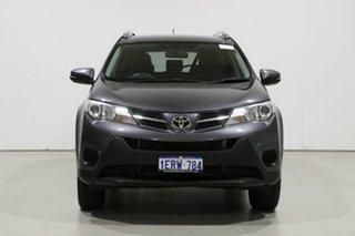 2015 Toyota RAV4 ZSA42R MY14 Upgrade GX (2WD) Grey Continuous Variable Wagon.