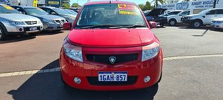 2006 Proton Savvy BT Red 5 Speed Seq Manual Auto-Clutch Hatchback.