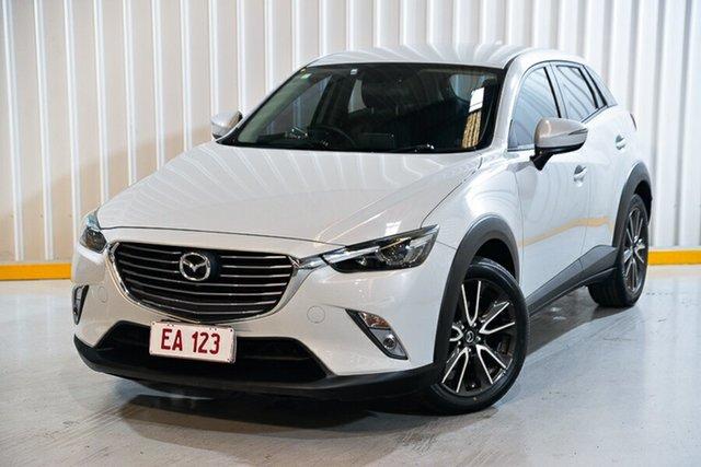 Used Mazda CX-3 DK S Touring (AWD) Hendra, 2015 Mazda CX-3 DK S Touring (AWD) White 6 Speed Automatic Wagon