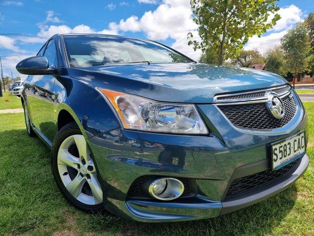 Used Holden Cruze JH Series II MY11 SRi-V Hindmarsh, 2011 Holden Cruze JH Series II MY11 SRi-V Blue 6 Speed Manual Sedan
