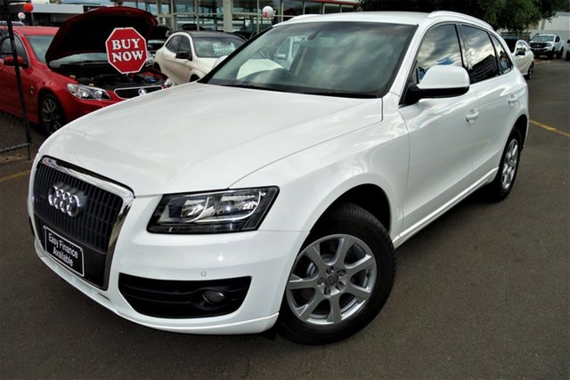 Used Audi Q5 8R MY11 TDI S Tronic Quattro Seaford, 2011 Audi Q5 8R MY11 TDI S Tronic Quattro White 7 Speed Sports Automatic Dual Clutch Wagon
