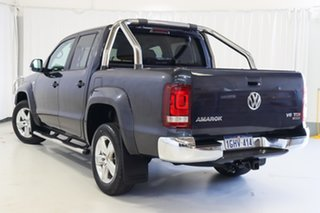 2017 Volkswagen Amarok 2H MY17 TDI550 4MOTION Perm Highline Blue 8 Speed Automatic Utility.