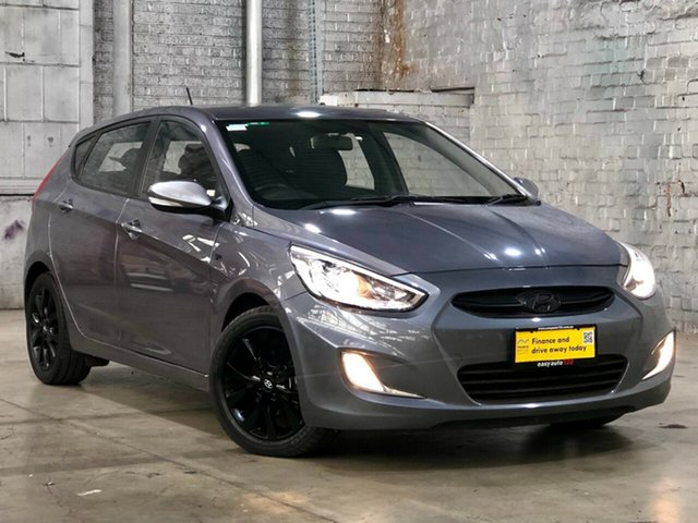 Used Hyundai Accent RB3 MY16 SR Mile End South, 2015 Hyundai Accent RB3 MY16 SR Grey 6 Speed Sports Automatic Hatchback