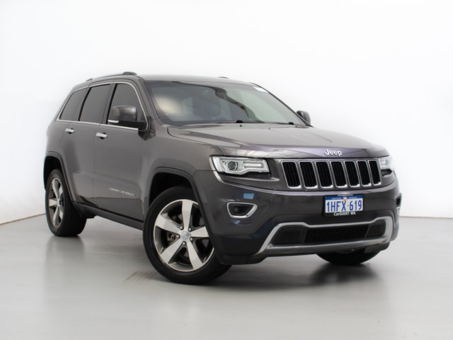 Used Jeep Grand Cherokee WK MY15 Limited (4x4), 2015 Jeep Grand Cherokee WK MY15 Limited (4x4) Grey 8 Speed Automatic Wagon