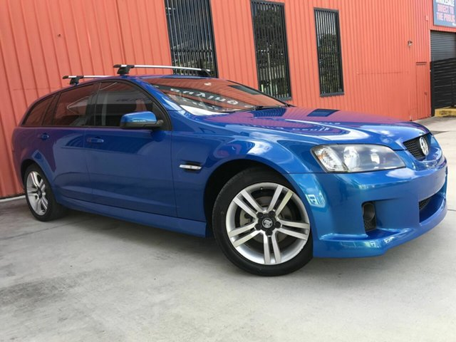 Used Holden Commodore VE MY09.5 SV6 Sportwagon Molendinar, 2009 Holden Commodore VE MY09.5 SV6 Sportwagon Blue 5 Speed Sports Automatic Wagon