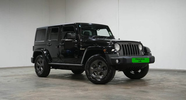 Used Jeep Wrangler JK MY18 Unlimited Sport Welshpool, 2018 Jeep Wrangler JK MY18 Unlimited Sport Black 5 Speed Automatic Softtop