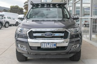 2016 Ford Ranger PX MkII XLT Double Cab Grey 6 Speed Sports Automatic Utility.