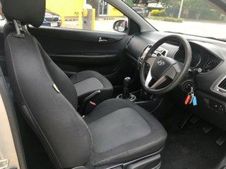 2013 Hyundai i20 PB MY13 Active Silver 6 Speed Manual Hatchback.