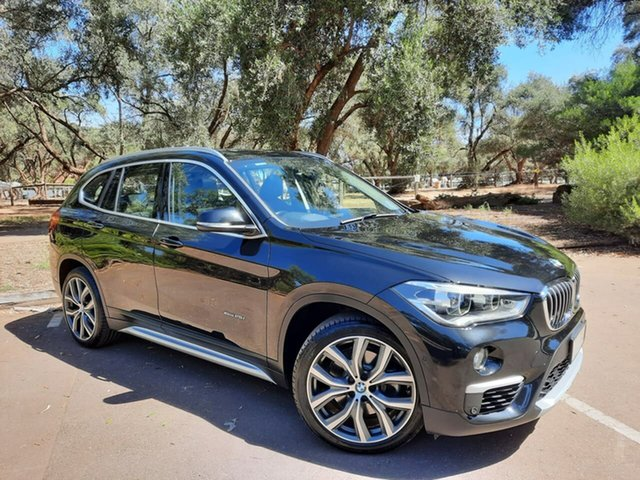 Used BMW X1 F48 xDrive25i Steptronic AWD Adelaide, 2016 BMW X1 F48 xDrive25i Steptronic AWD Black 8 Speed Sports Automatic Wagon