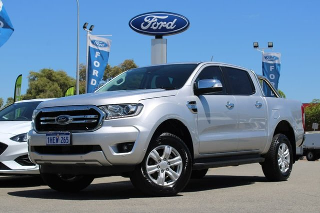 Used Ford Ranger PX MkIII 2019.00MY XLT Midland, 2018 Ford Ranger PX MkIII 2019.00MY XLT Silver 6 Speed Sports Automatic Utility