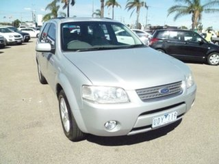 2006 Ford Territory SY Ghia Silver 4 Speed Sports Automatic Wagon.