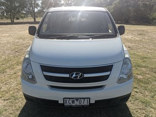2008 Hyundai iLOAD TQV Crew Cab White 5 Speed Manual Van