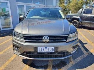 2016 Volkswagen Tiguan 5N MY17 110TDI DSG 4MOTION Comfortline Grey 7 Speed.