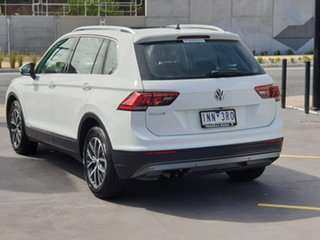 2018 Volkswagen Tiguan 5N MY18 110TSI DSG 2WD Comfortline White 6 Speed Sports Automatic Dual Clutch