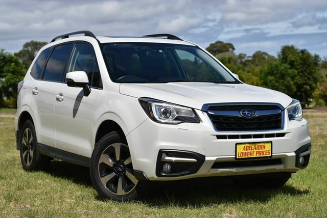 Used Subaru Forester S4 MY17 2.5i-S CVT AWD Enfield, 2017 Subaru Forester S4 MY17 2.5i-S CVT AWD White 6 Speed Constant Variable Wagon