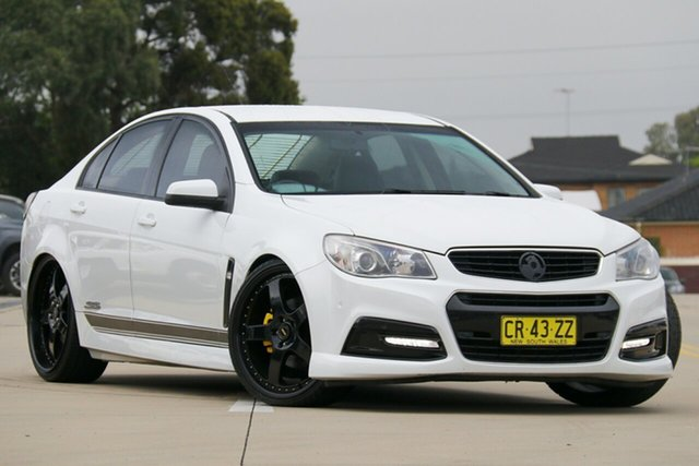 Used Holden Commodore VF MY15 SS Chullora, 2015 Holden Commodore VF MY15 SS White 6 Speed Automatic Sedan