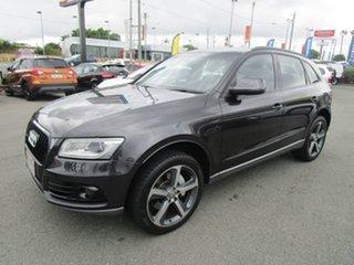 2014 Audi Q5 8R MY14 TDI S Tronic Quattro Black 7 Speed Sports Automatic Dual Clutch Wagon.