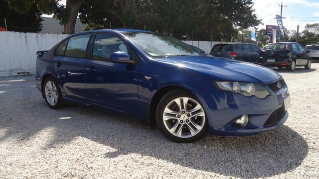 Used Ford Falcon FG XR6 Seaford, 2009 Ford Falcon FG XR6 Blue 5 Speed Sports Automatic Sedan