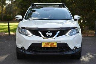 2017 Nissan Qashqai J11 TL White 1 Speed Constant Variable Wagon.