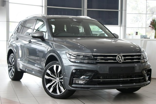New Volkswagen Tiguan 5N MY21 162TSI Highline DSG 4MOTION Allspace Cardiff, 2020 Volkswagen Tiguan 5N MY21 162TSI Highline DSG 4MOTION Allspace Deep Black Pearl Effect 7 Speed