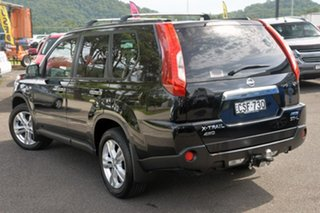 2013 Nissan X-Trail T31 Series V ST-L Black 1 Speed Constant Variable Wagon.