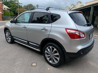 2011 Nissan Dualis J10 Series II MY2010 Ti Hatch X-tronic Silver 6 Speed Constant Variable Hatchback