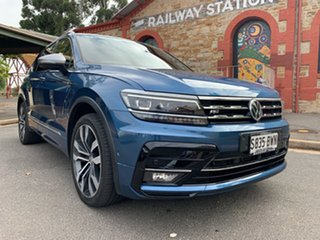2018 Volkswagen Tiguan 5N MY18 162TSI Highline DSG 4MOTION Allspace Blue 7 Speed.