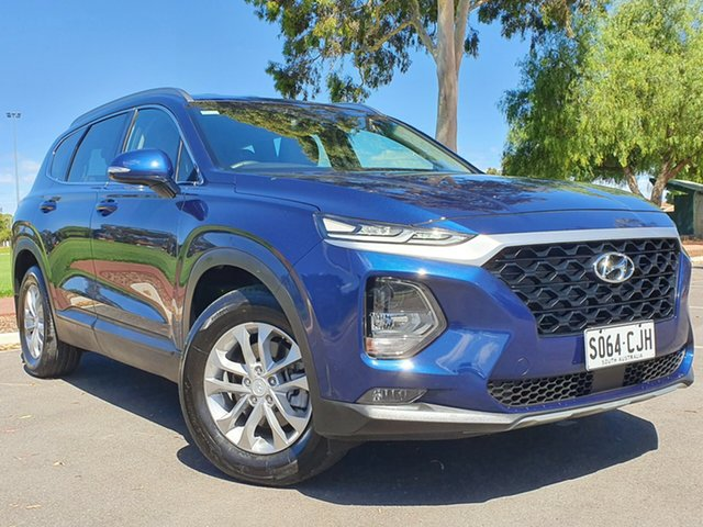 Used Hyundai Santa Fe TM MY19 Active Nailsworth, 2018 Hyundai Santa Fe TM MY19 Active Blue 8 Speed Sports Automatic Wagon