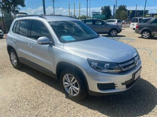 2014 Volkswagen Tiguan 5NC MY14 118 TSI (4x2) Silver 6 Speed Direct Shift Wagon.