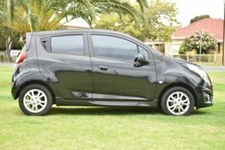 2014 Holden Barina TM MY14 CD Black 5 Speed Manual Hatchback