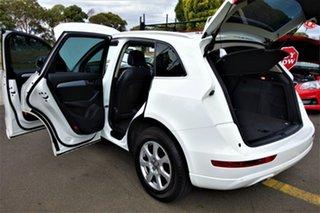 2011 Audi Q5 8R MY11 TDI S Tronic Quattro White 7 Speed Sports Automatic Dual Clutch Wagon