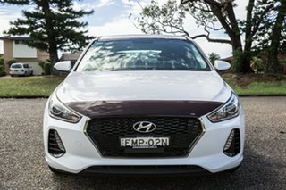 2018 Hyundai i30 PD2 MY18 Active Polar White 6 Speed Sports Automatic Hatchback.