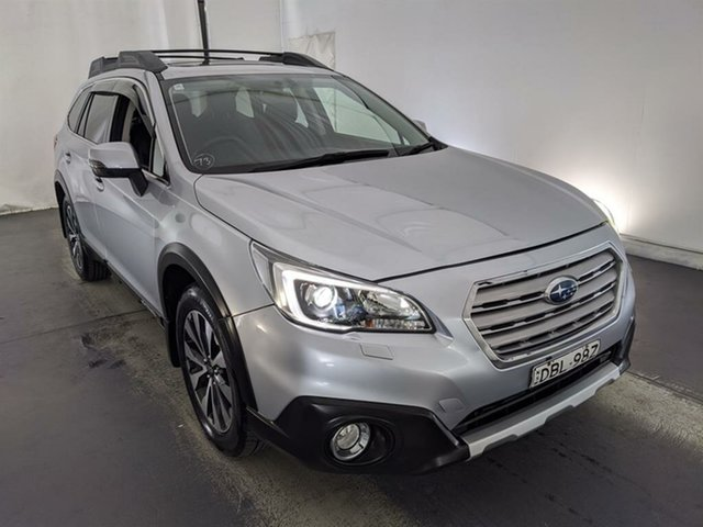 Used Subaru Outback B6A MY15 2.0D CVT AWD Premium Maryville, 2015 Subaru Outback B6A MY15 2.0D CVT AWD Premium Silver 7 Speed Constant Variable Wagon