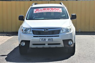 2010 Subaru Forester S3 MY10 X AWD Pearl White 4 Speed Sports Automatic Wagon.