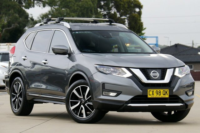 Used Nissan X-Trail T32 Series 2 TI (4WD) Chullora, 2017 Nissan X-Trail T32 Series 2 TI (4WD) Gun Metallic Continuous Variable Wagon