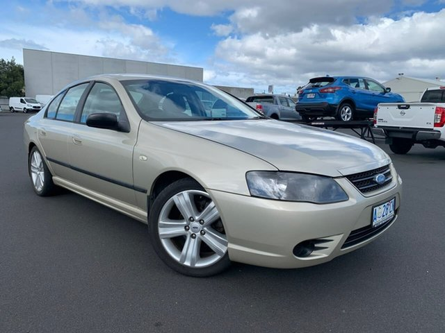 Used Ford Falcon BF Mk II XT Moonah, 2008 Ford Falcon BF Mk II XT Gold 4 Speed Sports Automatic Sedan